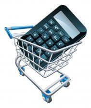 Calculator in a Shopping Cart